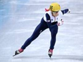 WINTER OLYMPICS 2014: Third time lucky? Elise Christie eases into